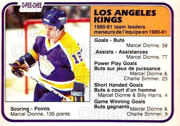 1981-82 O-Pee-Chee #156 Marcel Dionne<br/>3 In Stock - $2.00 each - <a href=https://centericecollectibles.foxycart.com/cart?name=1981-82%20O-Pee-Chee%20%23156%20Marcel%20Dionne...&quantity_max=3&price=$2.00&code=469029 class=foxycart> Buy it now! </a>
