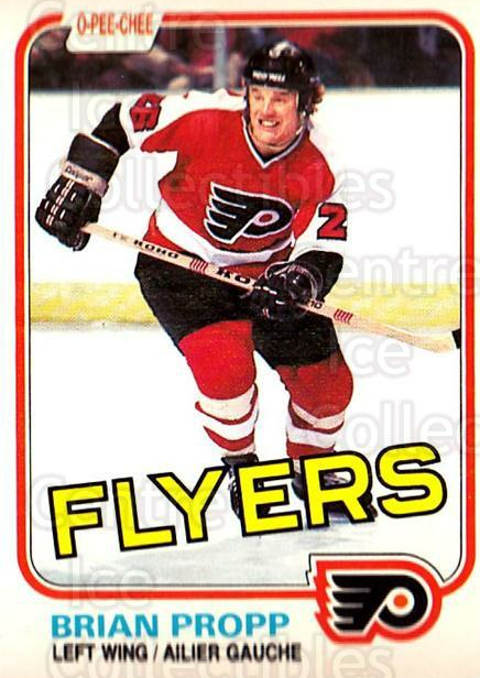 1981-82 O-Pee-Chee #246 Brian Propp<br/>4 In Stock - $1.00 each - <a href=https://centericecollectibles.foxycart.com/cart?name=1981-82%20O-Pee-Chee%20%23246%20Brian%20Propp...&quantity_max=4&price=$1.00&code=469119 class=foxycart> Buy it now! </a>