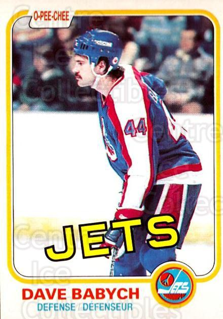 1981-82 O-Pee-Chee #358 Dave Babych<br/>6 In Stock - $3.00 each - <a href=https://centericecollectibles.foxycart.com/cart?name=1981-82%20O-Pee-Chee%20%23358%20Dave%20Babych...&quantity_max=6&price=$3.00&code=469231 class=foxycart> Buy it now! </a>