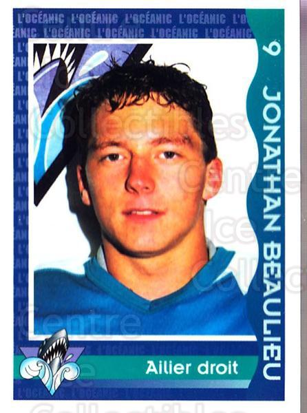 1997-98 Rimouski Oceanic Police #1 Jonathan Beaulieu<br/>2 In Stock - $3.00 each - <a href=https://centericecollectibles.foxycart.com/cart?name=1997-98%20Rimouski%20Oceanic%20Police%20%231%20Jonathan%20Beauli...&quantity_max=2&price=$3.00&code=469275 class=foxycart> Buy it now! </a>