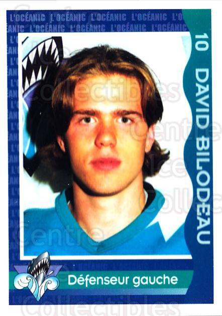 1997-98 Rimouski Oceanic Police #3 David Bilodeau<br/>2 In Stock - $3.00 each - <a href=https://centericecollectibles.foxycart.com/cart?name=1997-98%20Rimouski%20Oceanic%20Police%20%233%20David%20Bilodeau...&quantity_max=2&price=$3.00&code=469277 class=foxycart> Buy it now! </a>