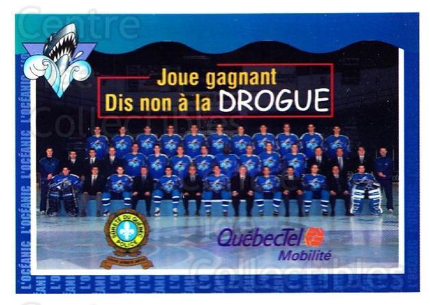 1997-98 Rimouski Oceanic Police #25 Team Photo, Rimouski Oceanic<br/>1 In Stock - $3.00 each - <a href=https://centericecollectibles.foxycart.com/cart?name=1997-98%20Rimouski%20Oceanic%20Police%20%2325%20Team%20Photo,%20Rim...&quantity_max=1&price=$3.00&code=469281 class=foxycart> Buy it now! </a>