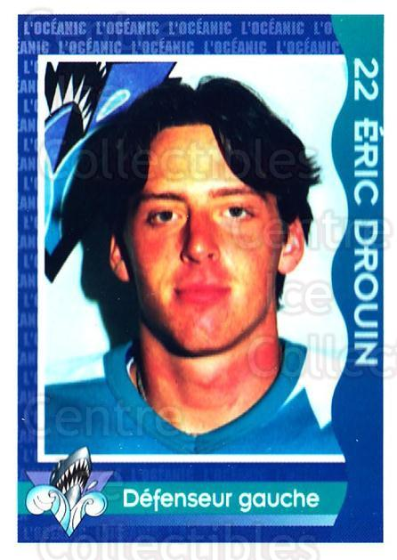 1997-98 Rimouski Oceanic Police #10 Eric Drouin<br/>1 In Stock - $3.00 each - <a href=https://centericecollectibles.foxycart.com/cart?name=1997-98%20Rimouski%20Oceanic%20Police%20%2310%20Eric%20Drouin...&quantity_max=1&price=$3.00&code=469285 class=foxycart> Buy it now! </a>