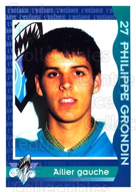 1997-98 Rimouski Oceanic Police #13 Phillippe Grondin<br/>2 In Stock - $3.00 each - <a href=https://centericecollectibles.foxycart.com/cart?name=1997-98%20Rimouski%20Oceanic%20Police%20%2313%20Phillippe%20Grond...&quantity_max=2&price=$3.00&code=469288 class=foxycart> Buy it now! </a>