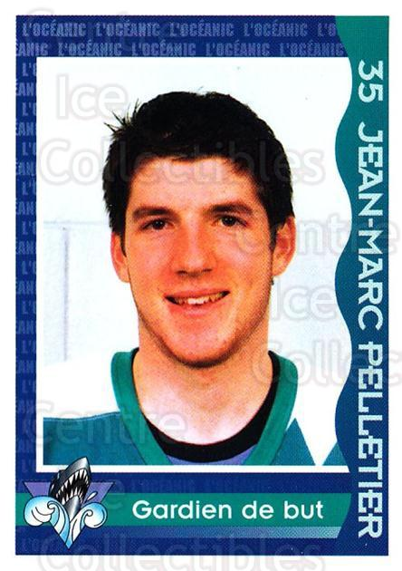 1997-98 Rimouski Oceanic Police #18 Jean-Marc Pelletier<br/>1 In Stock - $3.00 each - <a href=https://centericecollectibles.foxycart.com/cart?name=1997-98%20Rimouski%20Oceanic%20Police%20%2318%20Jean-Marc%20Pelle...&quantity_max=1&price=$3.00&code=469293 class=foxycart> Buy it now! </a>