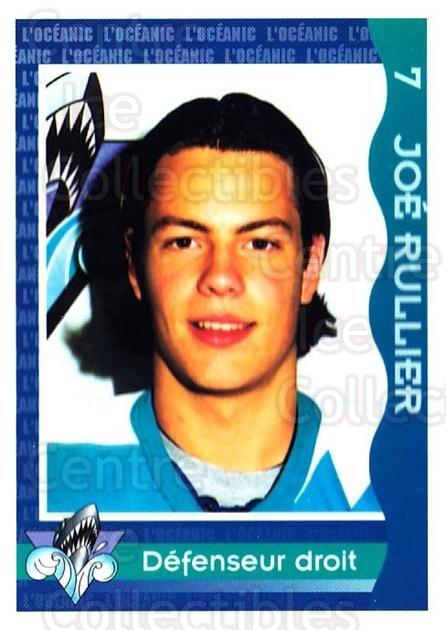 1997-98 Rimouski Oceanic Police #20 Joe Rullier<br/>2 In Stock - $3.00 each - <a href=https://centericecollectibles.foxycart.com/cart?name=1997-98%20Rimouski%20Oceanic%20Police%20%2320%20Joe%20Rullier...&quantity_max=2&price=$3.00&code=469295 class=foxycart> Buy it now! </a>
