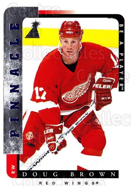 1996-97 Be A Player #43 Doug Brown<br/>3 In Stock - $1.00 each - <a href=https://centericecollectibles.foxycart.com/cart?name=1996-97%20Be%20A%20Player%20%2343%20Doug%20Brown...&quantity_max=3&price=$1.00&code=46941 class=foxycart> Buy it now! </a>