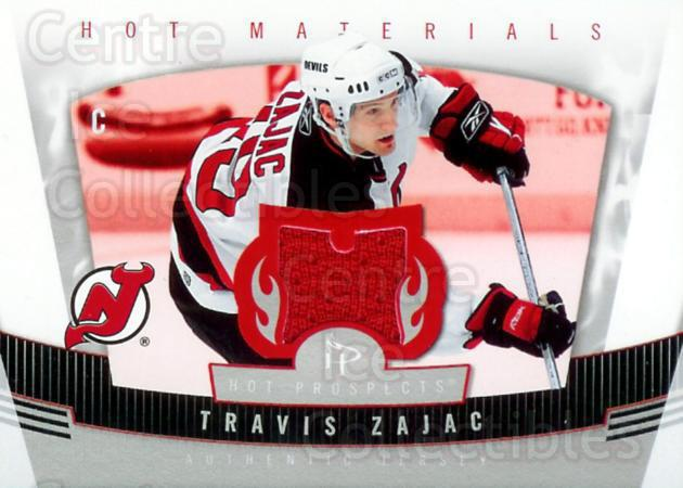 2006-07 Hot Prospects Hot Materials #HMTZ Travis Zajac<br/>1 In Stock - $5.00 each - <a href=https://centericecollectibles.foxycart.com/cart?name=2006-07%20Hot%20Prospects%20Hot%20Materials%20%23HMTZ%20Travis%20Zajac...&quantity_max=1&price=$5.00&code=469499 class=foxycart> Buy it now! </a>