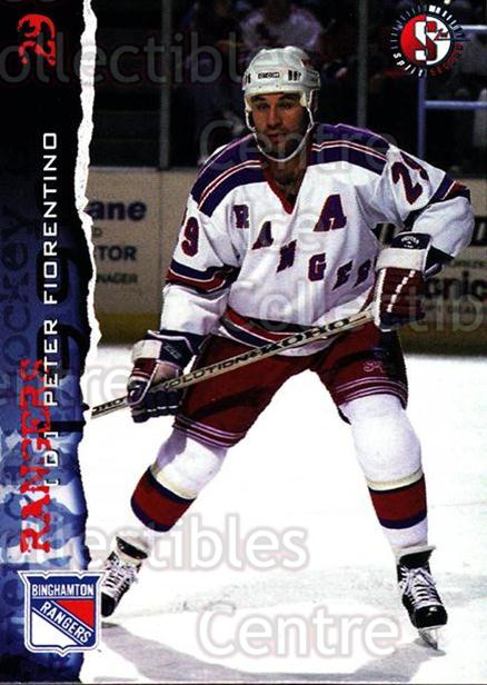 1996-97 Binghamton Rangers #9 Peter Fiorentino<br/>2 In Stock - $3.00 each - <a href=https://centericecollectibles.foxycart.com/cart?name=1996-97%20Binghamton%20Rangers%20%239%20Peter%20Fiorentin...&quantity_max=2&price=$3.00&code=46967 class=foxycart> Buy it now! </a>