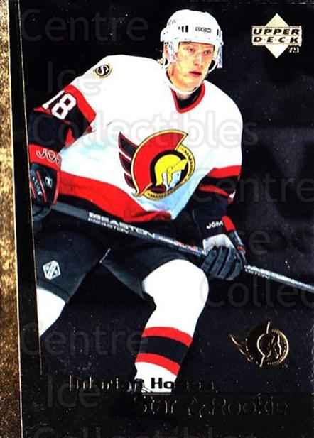 1998-99 Upper Deck Gold Reserve #6 Marian Hossa<br/>1 In Stock - $3.00 each - <a href=https://centericecollectibles.foxycart.com/cart?name=1998-99%20Upper%20Deck%20Gold%20Reserve%20%236%20Marian%20Hossa...&quantity_max=1&price=$3.00&code=469763 class=foxycart> Buy it now! </a>