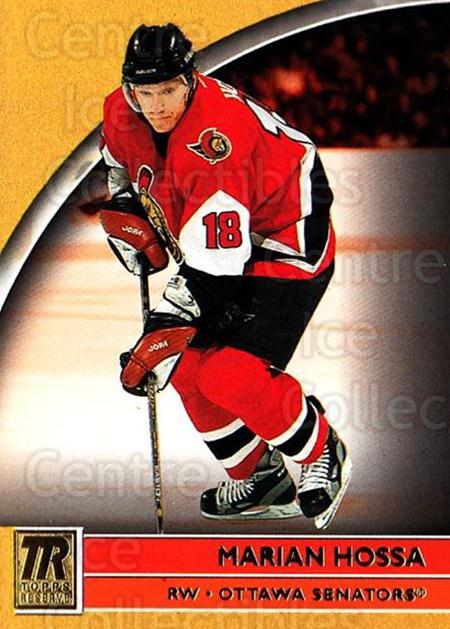 2001-02 Topps Reserve #31 Marian Hossa<br/>1 In Stock - $1.00 each - <a href=https://centericecollectibles.foxycart.com/cart?name=2001-02%20Topps%20Reserve%20%2331%20Marian%20Hossa...&quantity_max=1&price=$1.00&code=469812 class=foxycart> Buy it now! </a>