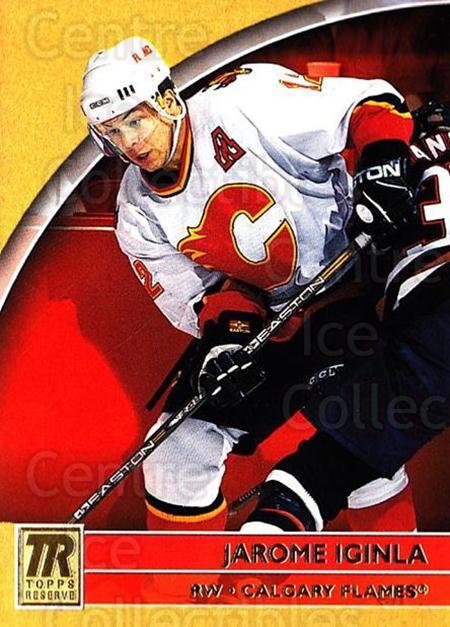 2001-02 Topps Reserve #38 Jarome Iginla<br/>1 In Stock - $1.00 each - <a href=https://centericecollectibles.foxycart.com/cart?name=2001-02%20Topps%20Reserve%20%2338%20Jarome%20Iginla...&quantity_max=1&price=$1.00&code=469814 class=foxycart> Buy it now! </a>