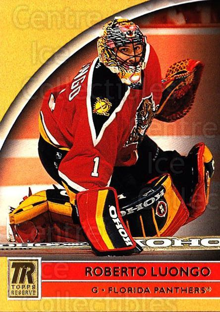 2001-02 Topps Reserve #52 Roberto Luongo<br/>1 In Stock - $1.00 each - <a href=https://centericecollectibles.foxycart.com/cart?name=2001-02%20Topps%20Reserve%20%2352%20Roberto%20Luongo...&quantity_max=1&price=$1.00&code=469817 class=foxycart> Buy it now! </a>