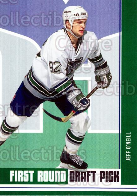 2002-03 BAP First Edition Hobby #412 Jeff O'Neill<br/>1 In Stock - $5.00 each - <a href=https://centericecollectibles.foxycart.com/cart?name=2002-03%20BAP%20First%20Edition%20Hobby%20%23412%20Jeff%20O'Neill...&quantity_max=1&price=$5.00&code=469936 class=foxycart> Buy it now! </a>
