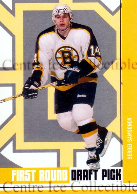 2002-03 BAP First Edition Hobby #418 Sergei Samsonov<br/>5 In Stock - $5.00 each - <a href=https://centericecollectibles.foxycart.com/cart?name=2002-03%20BAP%20First%20Edition%20Hobby%20%23418%20Sergei%20Samsonov...&quantity_max=5&price=$5.00&code=469942 class=foxycart> Buy it now! </a>