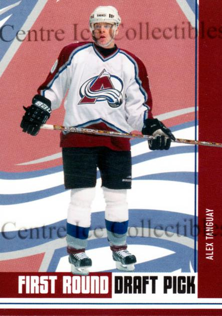2002-03 BAP First Edition Hobby #420 Alex Tanguay<br/>5 In Stock - $5.00 each - <a href=https://centericecollectibles.foxycart.com/cart?name=2002-03%20BAP%20First%20Edition%20Hobby%20%23420%20Alex%20Tanguay...&quantity_max=5&price=$5.00&code=469944 class=foxycart> Buy it now! </a>