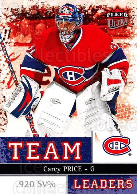2008-09 Ultra Team Leaders #4 Carey Price<br/>1 In Stock - $5.00 each - <a href=https://centericecollectibles.foxycart.com/cart?name=2008-09%20Ultra%20Team%20Leaders%20%234%20Carey%20Price...&price=$5.00&code=470095 class=foxycart> Buy it now! </a>