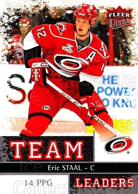 2008-09 Ultra Team Leaders #7 Eric Staal<br/>3 In Stock - $3.00 each - <a href=https://centericecollectibles.foxycart.com/cart?name=2008-09%20Ultra%20Team%20Leaders%20%237%20Eric%20Staal...&quantity_max=3&price=$3.00&code=470098 class=foxycart> Buy it now! </a>