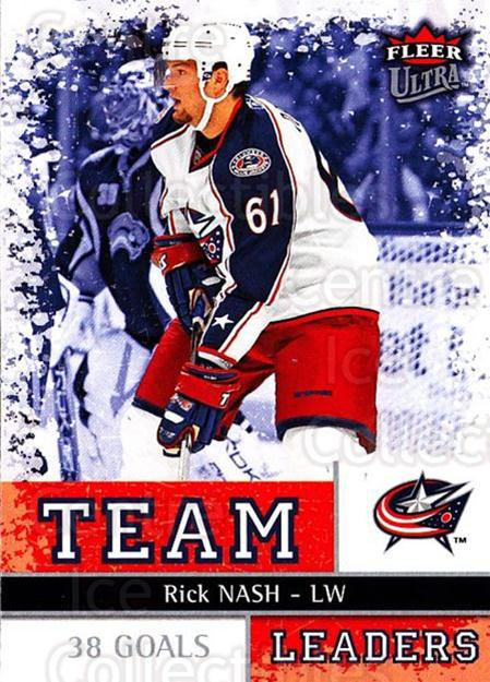 2008-09 Ultra Team Leaders #12 Rick Nash<br/>2 In Stock - $3.00 each - <a href=https://centericecollectibles.foxycart.com/cart?name=2008-09%20Ultra%20Team%20Leaders%20%2312%20Rick%20Nash...&quantity_max=2&price=$3.00&code=470103 class=foxycart> Buy it now! </a>