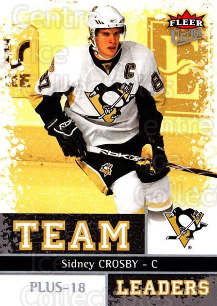 2008-09 Ultra Team Leaders #22 Sidney Crosby<br/>2 In Stock - $10.00 each - <a href=https://centericecollectibles.foxycart.com/cart?name=2008-09%20Ultra%20Team%20Leaders%20%2322%20Sidney%20Crosby...&quantity_max=2&price=$10.00&code=470113 class=foxycart> Buy it now! </a>