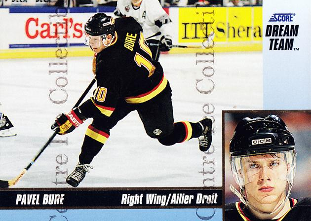1993-94 Score Dream Team #19 Pavel Bure<br/>1 In Stock - $5.00 each - <a href=https://centericecollectibles.foxycart.com/cart?name=1993-94%20Score%20Dream%20Team%20%2319%20Pavel%20Bure...&quantity_max=1&price=$5.00&code=470702 class=foxycart> Buy it now! </a>