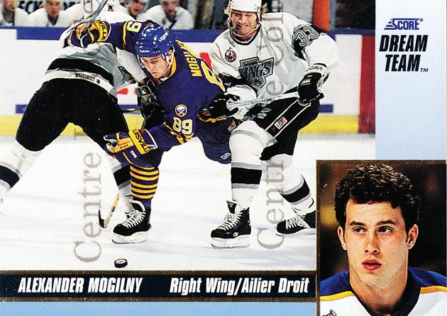 1993-94 Score Dream Team #20 Alexander Mogilny<br/>3 In Stock - $3.00 each - <a href=https://centericecollectibles.foxycart.com/cart?name=1993-94%20Score%20Dream%20Team%20%2320%20Alexander%20Mogil...&quantity_max=3&price=$3.00&code=470703 class=foxycart> Buy it now! </a>