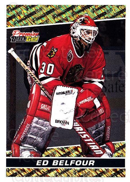 1993-94 OPC Premier Black Gold #16 Ed Belfour<br/>5 In Stock - $3.00 each - <a href=https://centericecollectibles.foxycart.com/cart?name=1993-94%20OPC%20Premier%20Black%20Gold%20%2316%20Ed%20Belfour...&quantity_max=5&price=$3.00&code=470715 class=foxycart> Buy it now! </a>
