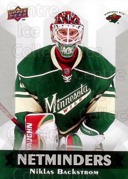 2010-11 Upper Deck Netminders #10 Niklas Backstrom<br/>5 In Stock - $2.00 each - <a href=https://centericecollectibles.foxycart.com/cart?name=2010-11%20Upper%20Deck%20Netminders%20%2310%20Niklas%20Backstro...&quantity_max=5&price=$2.00&code=470923 class=foxycart> Buy it now! </a>