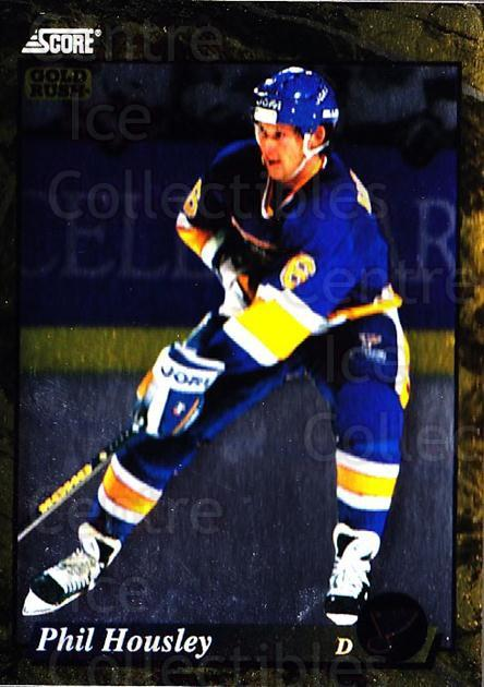 1993-94 Score Canadian Gold #520 Phil Housley<br/>5 In Stock - $2.00 each - <a href=https://centericecollectibles.foxycart.com/cart?name=1993-94%20Score%20Canadian%20Gold%20%23520%20Phil%20Housley...&quantity_max=5&price=$2.00&code=4709 class=foxycart> Buy it now! </a>