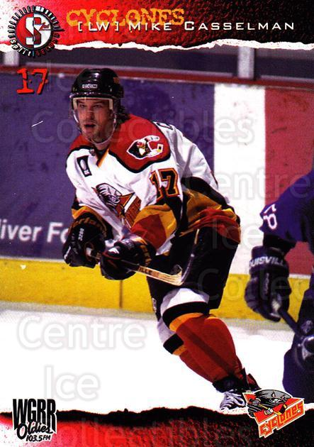 1996-97 Cincinnati Cyclones #11 Mike Casselman<br/>1 In Stock - $3.00 each - <a href=https://centericecollectibles.foxycart.com/cart?name=1996-97%20Cincinnati%20Cyclones%20%2311%20Mike%20Casselman...&quantity_max=1&price=$3.00&code=47113 class=foxycart> Buy it now! </a>