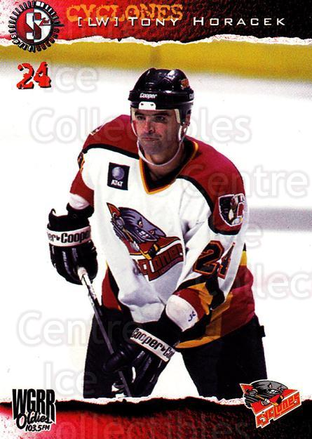 1996-97 Cincinnati Cyclones #14 Tony Horacek<br/>2 In Stock - $3.00 each - <a href=https://centericecollectibles.foxycart.com/cart?name=1996-97%20Cincinnati%20Cyclones%20%2314%20Tony%20Horacek...&quantity_max=2&price=$3.00&code=47116 class=foxycart> Buy it now! </a>