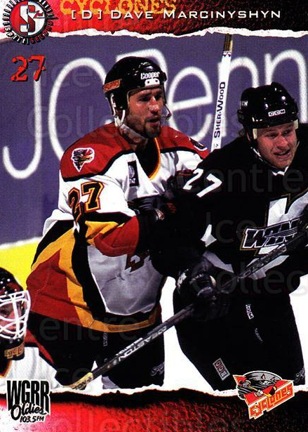 1996-97 Cincinnati Cyclones #16 David Marcinyshyn<br/>2 In Stock - $3.00 each - <a href=https://centericecollectibles.foxycart.com/cart?name=1996-97%20Cincinnati%20Cyclones%20%2316%20David%20Marcinysh...&quantity_max=2&price=$3.00&code=47118 class=foxycart> Buy it now! </a>