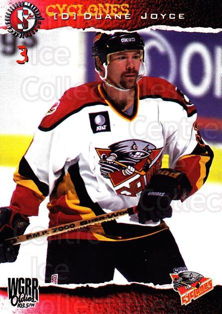 1996-97 Cincinnati Cyclones #5 Duane Joyce<br/>4 In Stock - $3.00 each - <a href=https://centericecollectibles.foxycart.com/cart?name=1996-97%20Cincinnati%20Cyclones%20%235%20Duane%20Joyce...&quantity_max=4&price=$3.00&code=47121 class=foxycart> Buy it now! </a>