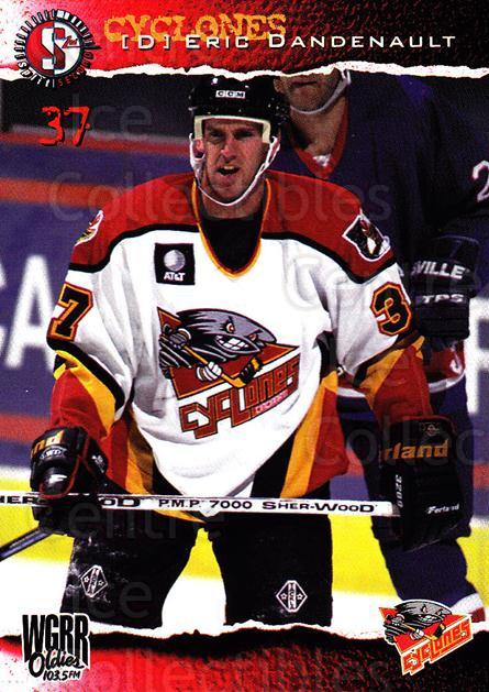 1996-97 Cincinnati Cyclones #21 Eric Dandenault<br/>3 In Stock - $3.00 each - <a href=https://centericecollectibles.foxycart.com/cart?name=1996-97%20Cincinnati%20Cyclones%20%2321%20Eric%20Dandenault...&quantity_max=3&price=$3.00&code=47124 class=foxycart> Buy it now! </a>
