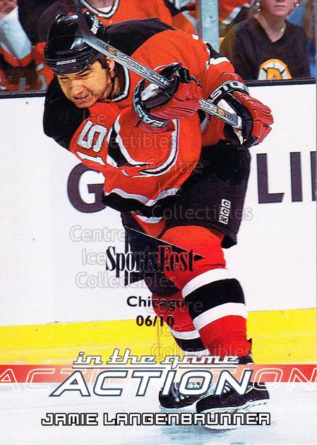 2003-04 ITG Action SportsFest #301 Jamie Langenbrunner<br/>1 In Stock - $5.00 each - <a href=https://centericecollectibles.foxycart.com/cart?name=2003-04%20ITG%20Action%20SportsFest%20%23301%20Jamie%20Langenbru...&quantity_max=1&price=$5.00&code=471307 class=foxycart> Buy it now! </a>