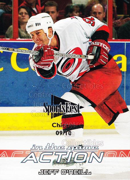 2003-04 ITG Action SportsFest #141 Jeff O'Neill<br/>1 In Stock - $5.00 each - <a href=https://centericecollectibles.foxycart.com/cart?name=2003-04%20ITG%20Action%20SportsFest%20%23141%20Jeff%20O'Neill...&quantity_max=1&price=$5.00&code=471372 class=foxycart> Buy it now! </a>