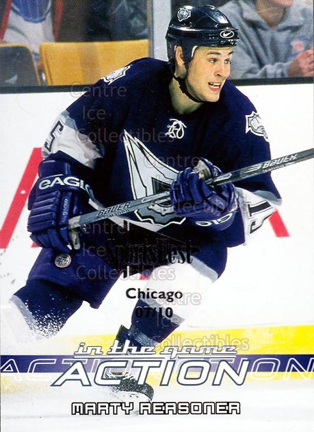 2003-04 ITG Action SportsFest #285 Marty Reasoner<br/>1 In Stock - $5.00 each - <a href=https://centericecollectibles.foxycart.com/cart?name=2003-04%20ITG%20Action%20SportsFest%20%23285%20Marty%20Reasoner...&quantity_max=1&price=$5.00&code=471515 class=foxycart> Buy it now! </a>