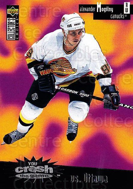 1996-97 Collectors Choice Crash the Game #03A Alexander Mogilny<br/>1 In Stock - $2.00 each - <a href=https://centericecollectibles.foxycart.com/cart?name=1996-97%20Collectors%20Choice%20Crash%20the%20Game%20%2303A%20Alexander%20Mogil...&quantity_max=1&price=$2.00&code=47199 class=foxycart> Buy it now! </a>