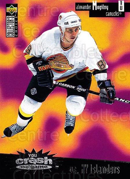 1996-97 Collectors Choice Crash the Game #03B Alexander Mogilny<br/>2 In Stock - $2.00 each - <a href=https://centericecollectibles.foxycart.com/cart?name=1996-97%20Collectors%20Choice%20Crash%20the%20Game%20%2303B%20Alexander%20Mogil...&quantity_max=2&price=$2.00&code=47200 class=foxycart> Buy it now! </a>