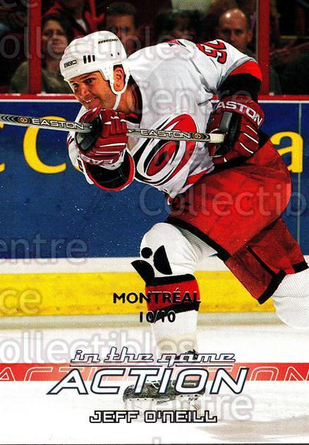 2003-04 ITG Action Montreal #141 Jeff O'Neill<br/>1 In Stock - $5.00 each - <a href=https://centericecollectibles.foxycart.com/cart?name=2003-04%20ITG%20Action%20Montreal%20%23141%20Jeff%20O'Neill...&quantity_max=1&price=$5.00&code=472089 class=foxycart> Buy it now! </a>