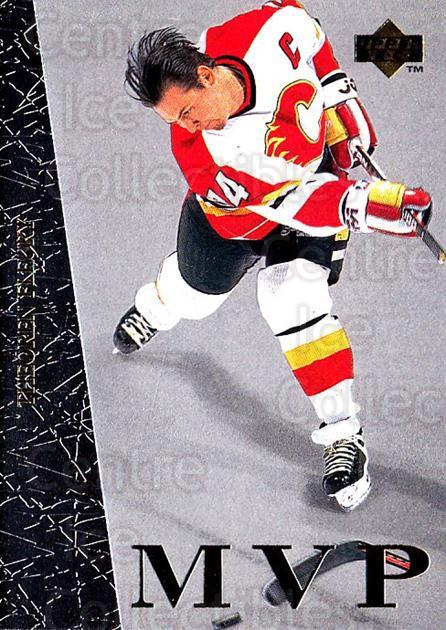 1996-97 Collectors Choice MVP #11 Theo Fleury<br/>6 In Stock - $1.00 each - <a href=https://centericecollectibles.foxycart.com/cart?name=1996-97%20Collectors%20Choice%20MVP%20%2311%20Theo%20Fleury...&quantity_max=6&price=$1.00&code=47247 class=foxycart> Buy it now! </a>