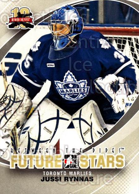 2011-12 Between The Pipes #57 Jussi Rynnas<br/>13 In Stock - $1.00 each - <a href=https://centericecollectibles.foxycart.com/cart?name=2011-12%20Between%20The%20Pipes%20%2357%20Jussi%20Rynnas...&quantity_max=13&price=$1.00&code=472598 class=foxycart> Buy it now! </a>
