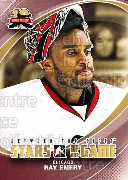 2011-12 Between The Pipes #73 Ray Emery<br/>18 In Stock - $1.00 each - <a href=https://centericecollectibles.foxycart.com/cart?name=2011-12%20Between%20The%20Pipes%20%2373%20Ray%20Emery...&quantity_max=18&price=$1.00&code=472614 class=foxycart> Buy it now! </a>