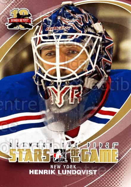 2011-12 Between The Pipes #83 Henrik Lundqvist<br/>19 In Stock - $2.00 each - <a href=https://centericecollectibles.foxycart.com/cart?name=2011-12%20Between%20The%20Pipes%20%2383%20Henrik%20Lundqvis...&quantity_max=19&price=$2.00&code=472624 class=foxycart> Buy it now! </a>