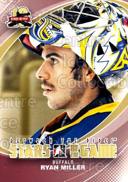2011-12 Between The Pipes #86 Ryan Miller<br/>19 In Stock - $1.00 each - <a href=https://centericecollectibles.foxycart.com/cart?name=2011-12%20Between%20The%20Pipes%20%2386%20Ryan%20Miller...&quantity_max=19&price=$1.00&code=472627 class=foxycart> Buy it now! </a>