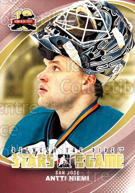 2011-12 Between The Pipes #88 Antti Niemi<br/>17 In Stock - $1.00 each - <a href=https://centericecollectibles.foxycart.com/cart?name=2011-12%20Between%20The%20Pipes%20%2388%20Antti%20Niemi...&quantity_max=17&price=$1.00&code=472629 class=foxycart> Buy it now! </a>