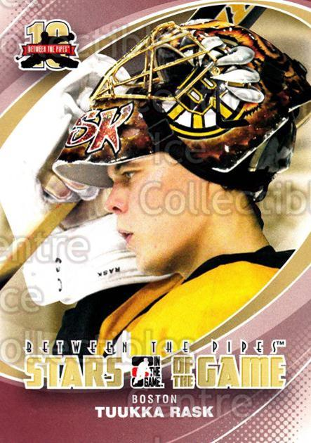 2011-12 Between The Pipes #92 Tuukka Rask<br/>17 In Stock - $2.00 each - <a href=https://centericecollectibles.foxycart.com/cart?name=2011-12%20Between%20The%20Pipes%20%2392%20Tuukka%20Rask...&quantity_max=17&price=$2.00&code=472633 class=foxycart> Buy it now! </a>