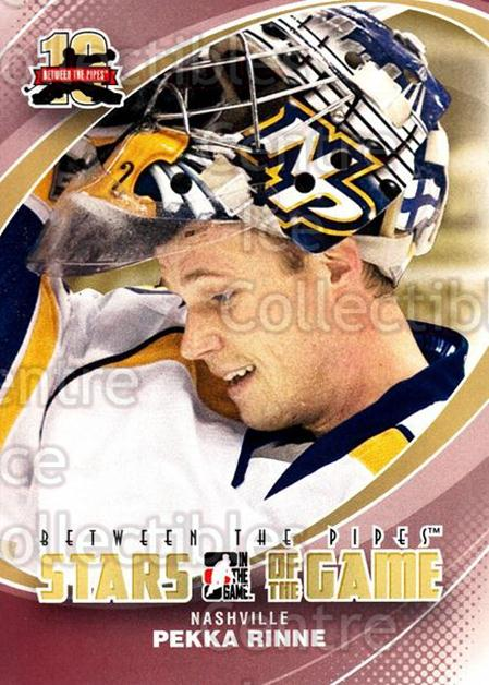2011-12 Between The Pipes #94 Pekka Rinne<br/>16 In Stock - $1.00 each - <a href=https://centericecollectibles.foxycart.com/cart?name=2011-12%20Between%20The%20Pipes%20%2394%20Pekka%20Rinne...&quantity_max=16&price=$1.00&code=472635 class=foxycart> Buy it now! </a>