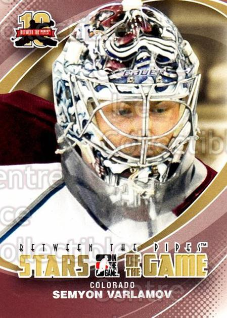 2011-12 Between The Pipes #98 Semyon Varlamov<br/>13 In Stock - $1.00 each - <a href=https://centericecollectibles.foxycart.com/cart?name=2011-12%20Between%20The%20Pipes%20%2398%20Semyon%20Varlamov...&quantity_max=13&price=$1.00&code=472639 class=foxycart> Buy it now! </a>