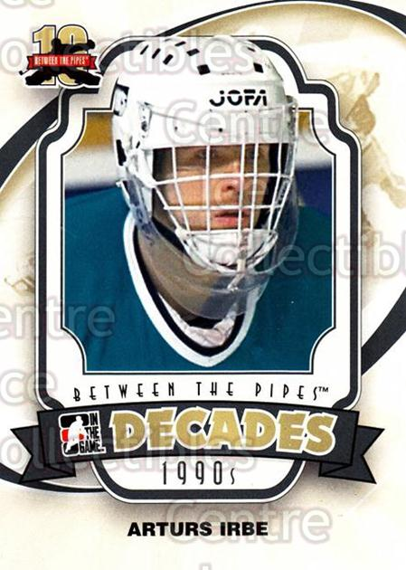 2011-12 Between The Pipes #125 Arturs Irbe<br/>17 In Stock - $1.00 each - <a href=https://centericecollectibles.foxycart.com/cart?name=2011-12%20Between%20The%20Pipes%20%23125%20Arturs%20Irbe...&quantity_max=17&price=$1.00&code=472666 class=foxycart> Buy it now! </a>